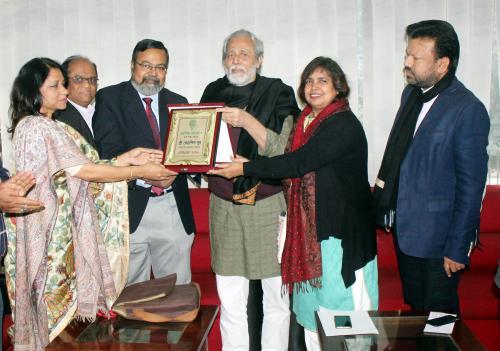 Kolkata Press Club President Visit 2018